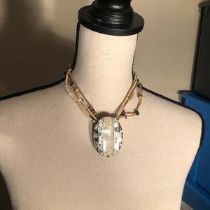 Jewelry - Tribal Gem Bead Necklace
